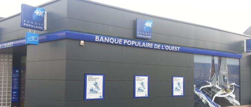 Signalétique Extérieure Agence de Loudéac