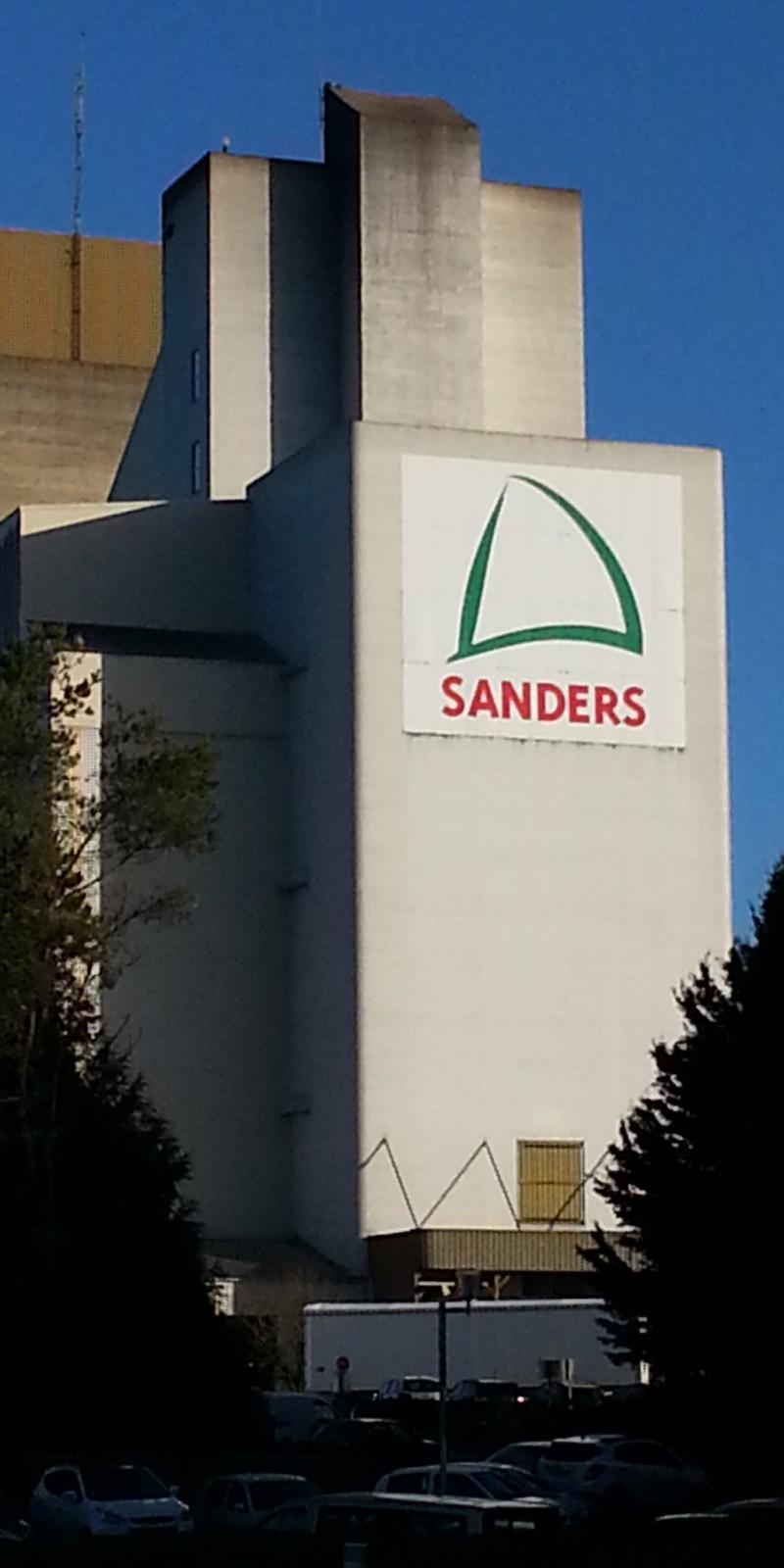 Panneau Extérieur Signalétique Glon Sanders