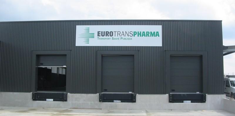 Panneau Extérieur Signalétique Eurotranspharma