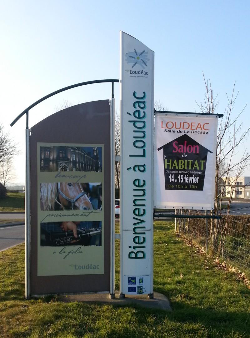 Totem Ville de Loudéac