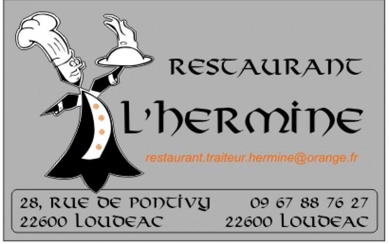 Restaurant Traiteur l'Hermine à Loudéac