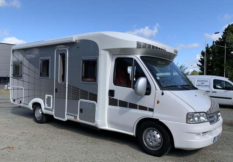 Flocage Camping Car pour le Garage Guyot