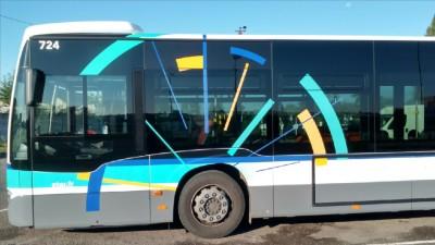 Marquage Bus Keolis Rennes