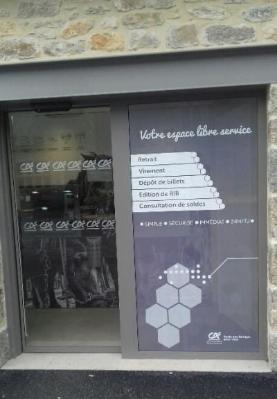 Microperforé Agence CA Plaintel